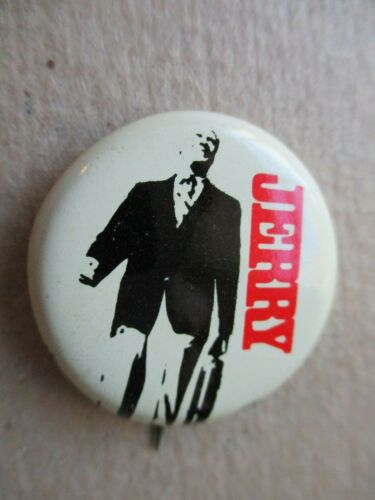 Jerry Gerald Ford Congress Campaign Pin Back Button Presidential Michigan Local