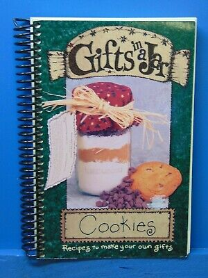 Gifts in a Jar Cookies Recipes Book 2001  GM1845 Gift Jar Cookie Recipes