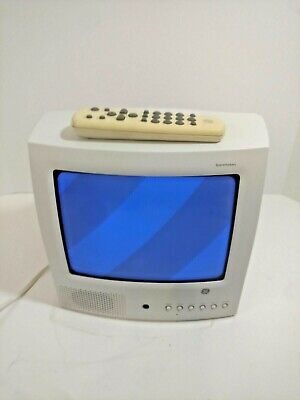 """GE General Electric 9"""" Spacemaker TV  09GP344 With Remote"""