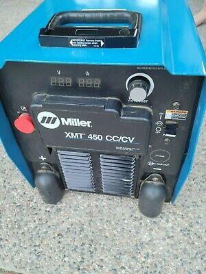 Miller Xmt 450 Cccv - Mig Tig Flux Cored Stick Multiprocess Welder.