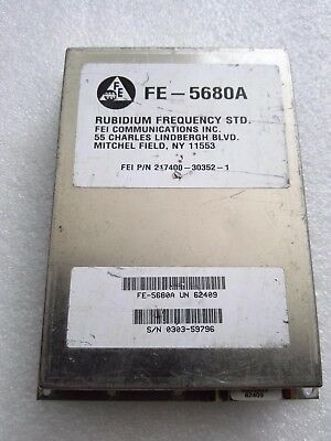 1pcs Used Original For Fe-5680a 10mhz Out Rubidium Atomic Frequency Standard