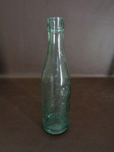Vintage C.H. Eddy Green Glass Bottle Brattleboro Vermont