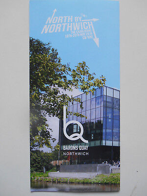 THE CHARLATANS North By Northwich Flyer (May 2018)  CW Nine MINT!!