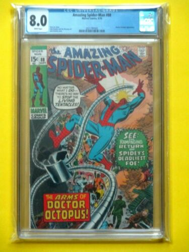 Amazing Spider-Man #88 - CGC 8.0 - Doctor Octopus Appearance