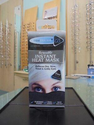 The Eye Doctor Click & Go Reusable Insant Heat Mask