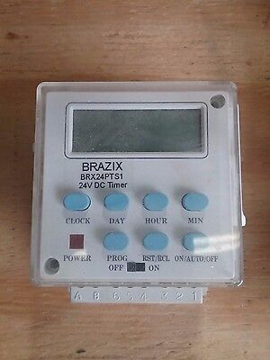 Brx24pts1 Brazix 24v Programmable Timer Switch 15a Brand New