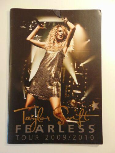 Taylor Swift Fearless 2009 2010 Concert Tour Book Program
