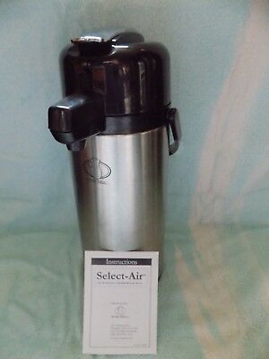 Select-air Insulated Beverage Dispenserhotcold 2.2l Cap.stainless Steel