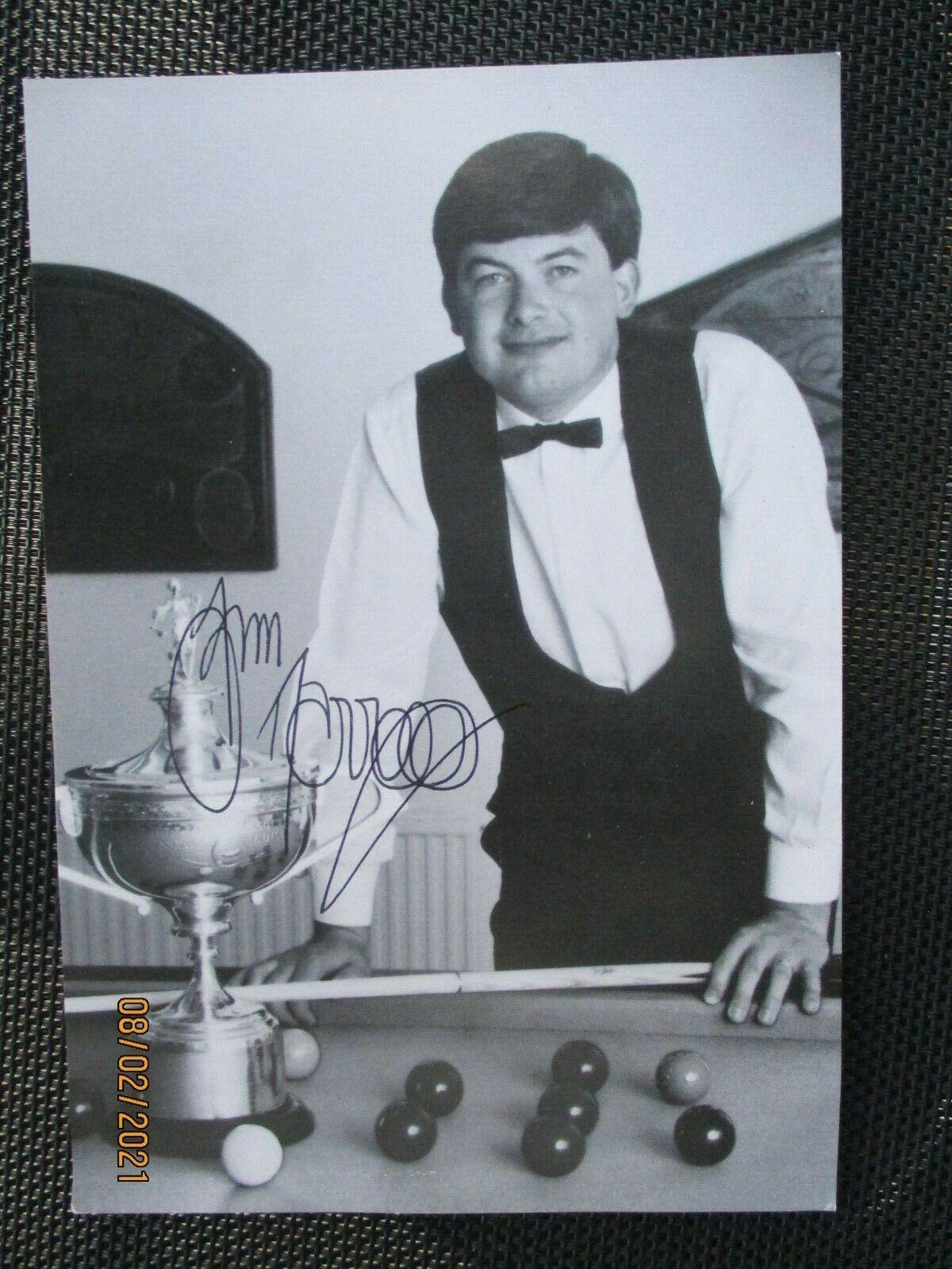 John Parrott-Autographed Photo 7
