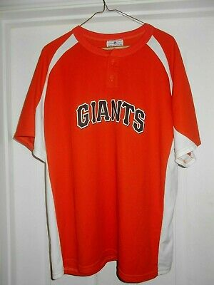 San Francisco Giants Fan Pullover Shirt Adult Large - San Francisco Giants-fan