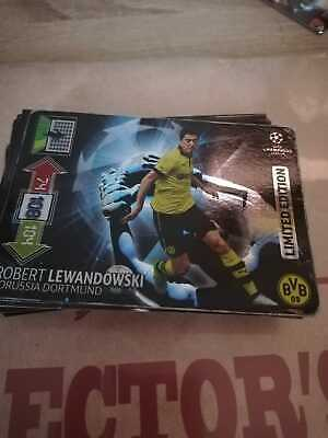 Panini UEFA Champions League 2012-2013 LIMITED EDITION Lewandowski for sale  Shipping to Nigeria