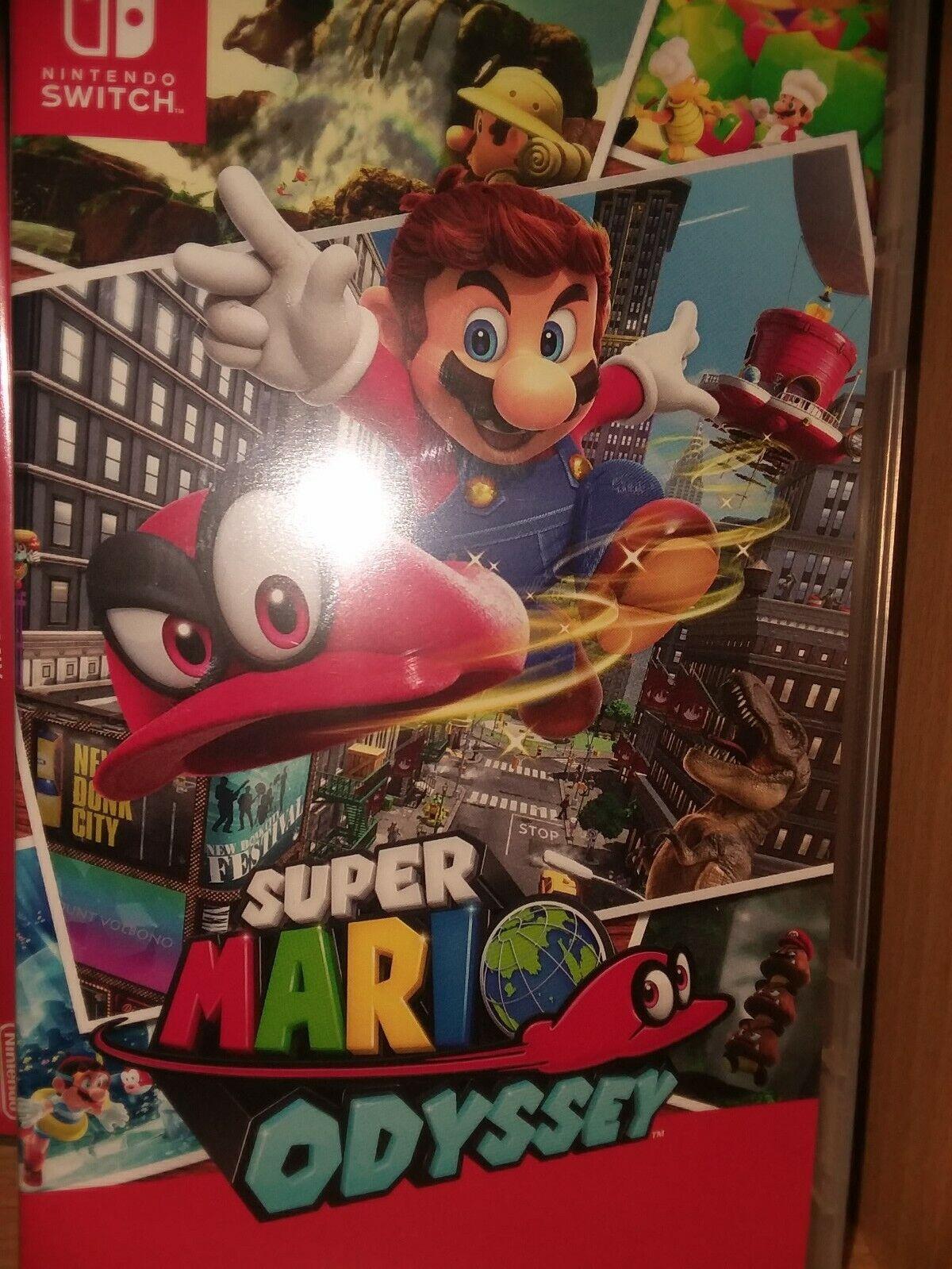 Super Mario Odyssey For Nintendo Switch, Slightly Cracked Case - $34.99