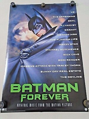 - BATMAN FOREVER - Orig.Soundtrack 2 piece Poster set - 20 x 30