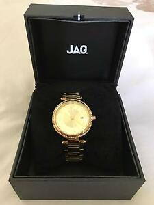 Brand new ladies JAG watch gold Date and time RRP $229 Mount Gravatt Brisbane South East Preview