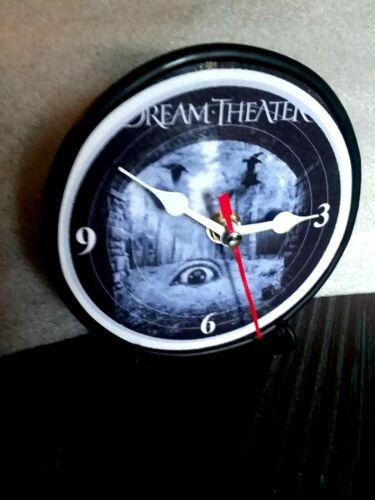 DREAM THEATRE - 5 INCH QUARTZ DESK CLOCK / BLACK STAND AND GIFT BOX INCLUDED