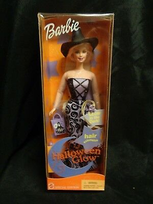 Halloween Glow Barbie 2002 New in Box ()