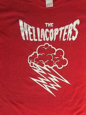 (The Hellacopters Lighting Bolt  Shirt Choose Size S/M/L/XL Original Design)