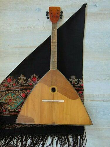 Balalaika Prima 6 strings original Soviet Russian Folk Instrument. Chernigov