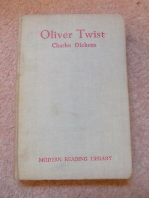 Modernen Twist (Charles Dickens Oliver Twist Modern Reading Library 1948 1st Edition)