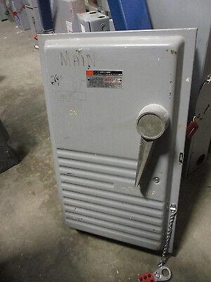 Fpe 1236r 200 Amp 600 Volt Nema 1 Fusible Disconnect