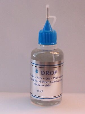 Drop Dental Handpiece Lubricant Lube Oil 15ml Cavitron Kavo Midwest Star Nsk 2pk