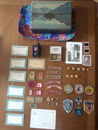 1934 BSA Eagle Scout Items