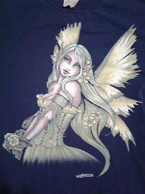 T-Shirt The Green Fairy (XXL) Elf Girl - Girl Fairy T-shirt
