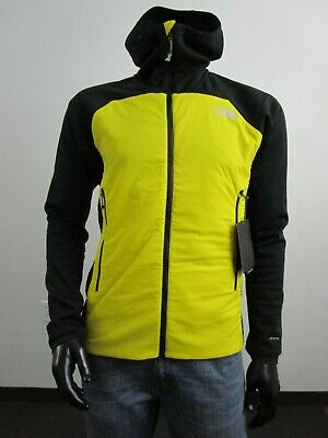 NWT Mens TNF The North Face L3 Ventrix Hybrid Hooded Insulated Jacket - Yellow