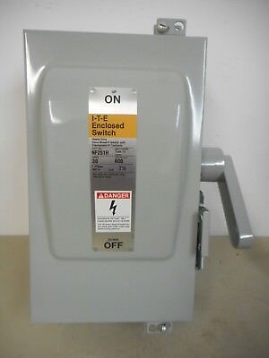 Ite Nf251h 30 Amp 600 Volt Non-fusible Nema12 Disconnect Safety Switch