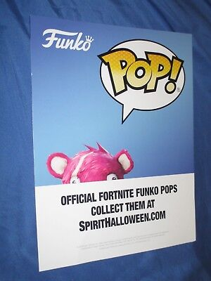 SPIRIT HALLOWEEN Store Exclusive Display Sign FUNKO / POP! Fortnite](Halloween Store Displays)