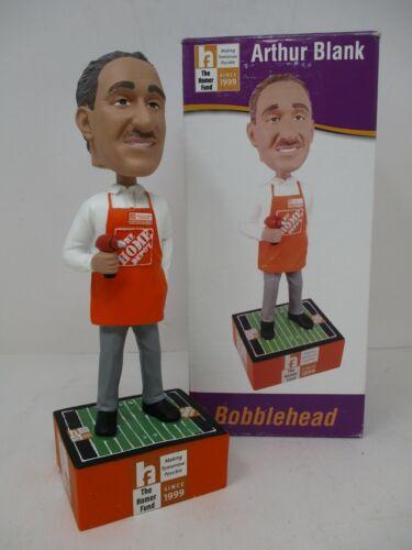 Home Depot Co-Founder Arthur Blank Bobblehead Homer Fund New In Box