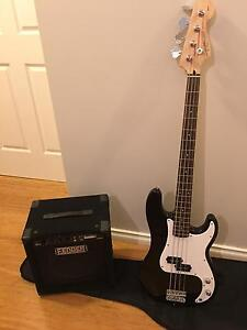 Bass guitar & Amp Yokine Stirling Area Preview