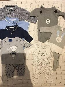 0000-000 baby boys clothes bundle. Seed Heritage, Peter Alexander Mawson Lakes Salisbury Area Preview