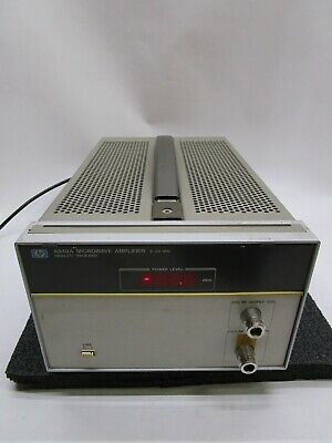 Hp 8349a Microwave Amplifier 2-20 Ghz T12-d5