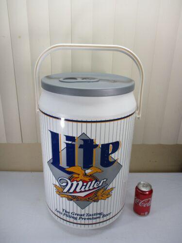 Vintage Miller Lite Beer Can Cooler Tailgate Kooler Kraft  USA  HOLDS 40 Cans