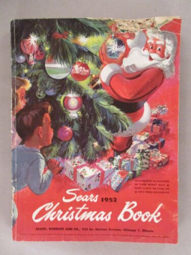 Sears CATALOG - Christmas, 1952 ~~ Wishbook, toy, toys
