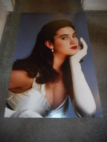JENNIFER CONNELLY - THE ROCKETEER - LARGE PREMIERE MOUNTED PHOTO - 1991