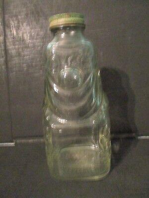 vintage Grapette Family Beverage  syrup clown jar piggy bank