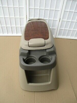 99-07 Ford F250 F350 Pickup 00-05 Excursion Center Drink Holder Storage Console