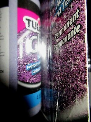 Tulip Fabric Spray Paint Amethyst Glitter 4 OZ  for sale  Riverside