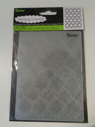 Darice+Quaterfoil+Double+Textured+Embossing+Folder