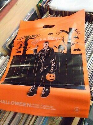 HALLOWEEN Soundtrack 2x LP NEW BLACK & ORANGE vinyl Lenticular Sleeve + BAG