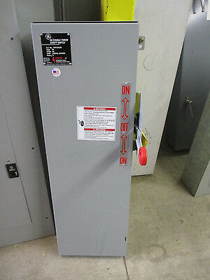 Ge Tdt3322r 60 Amp 240 Volt Fusible Nema 3r Double Throw Switch- Ats235- New