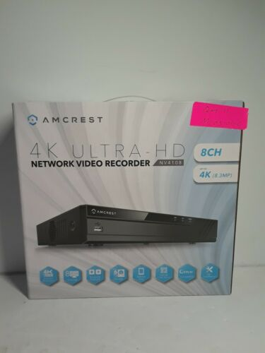 Amcrest NV4108 4K Network Video Recorder