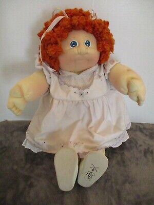 Vintage Xavier Roberts Original Soft Sculpture Cabbage Patch Doll Signed