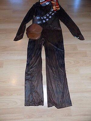 Men's Size Small Disney Star Wars Chewbacca Halloween Costume & Mask Rubie's ](Size Small Mens Halloween Costumes)