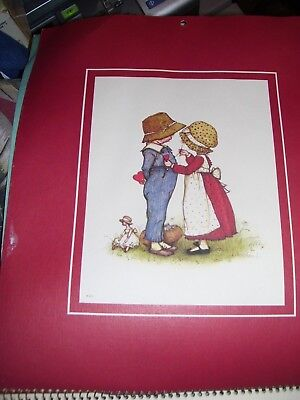 Vintage American Greetings Holly Hobbie Spiral 1978 Calendar 12 PICS FOR FRAMING