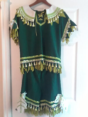 Fancy Peter Pan Costume with Matching Hat & Shoes - Halloween - See descrip for - Peter Pan For Halloween