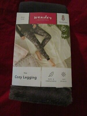 Wander Hottotties Womens The Cozy Legging Heavyweight Medium Grey