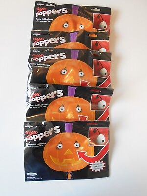 5 PUMPKIN Halloween SUPER SHAPE Helium Foil Balloons Wholesale Job Lot clearance